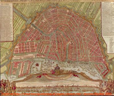 Amsterdam Antica, la Mappa