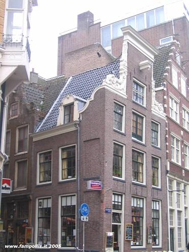 Amsterdam, le Case Tipiche. Carrucole e Paranchi