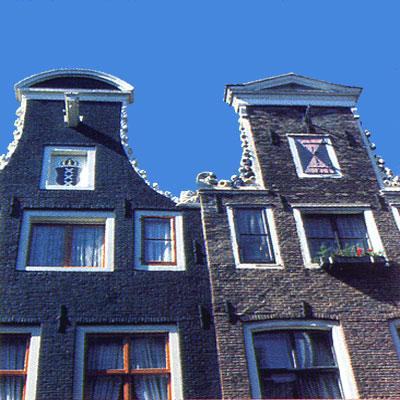Amsterdam, le Case Tipiche. Paranchetti