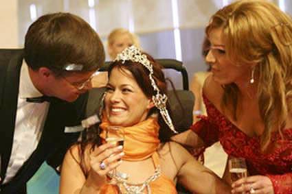 Miss Ability, la Vincitrice con il 1° Ministro Olandese