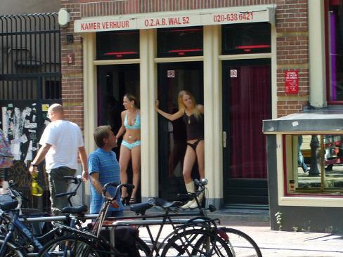 Amsterdam, delle Prostitute