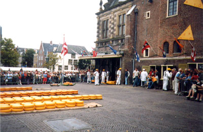 Alkmaar, Il Mercato del Formaggio, le Forme