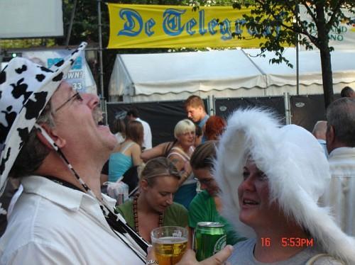 Amsterdam Jordaan Festival, i partecipanti divertiti