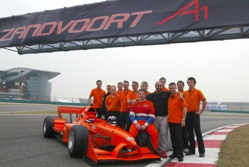 A1Gp - Zandvoort - il Team
