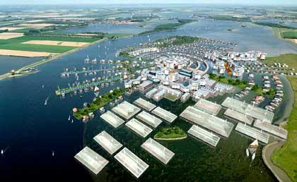 Oland, Case capaci di galleggiare in caso di innondazioni