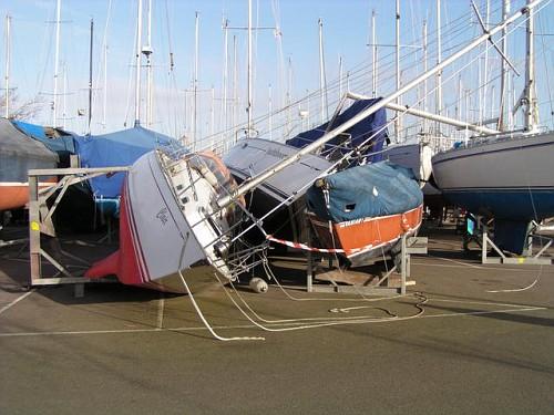 Tempesta sulle Barche