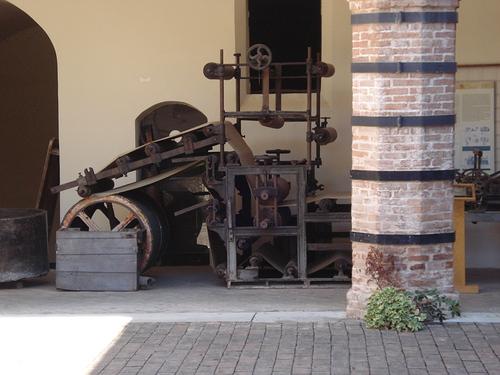 Museo della Carta Fabriano: Altra Macchina Storica