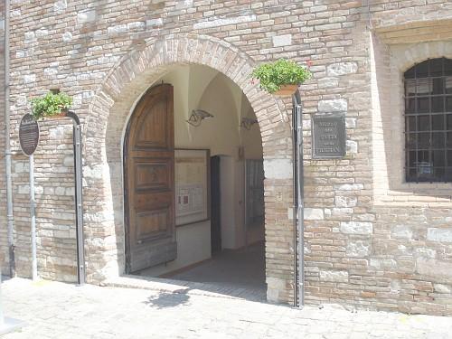 Museo della Carta Fabriano: l'Ingresso