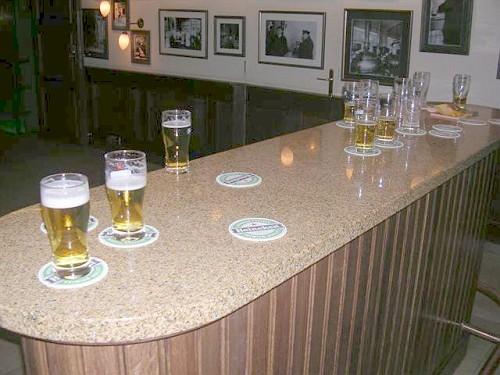 Amsterdam, l'Heineken Experience, i Boccali sul Bancone