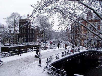 Amsterdam in Inverno, Il Ponte Ghiacciato