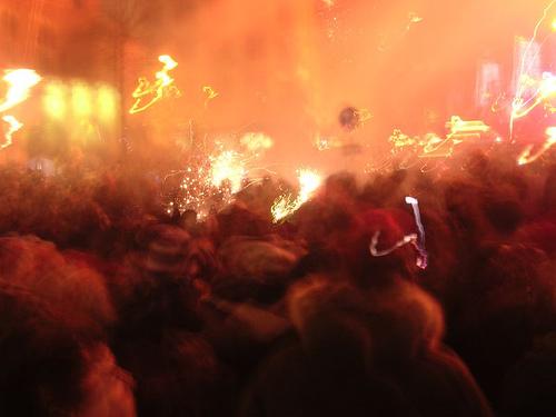 Amsterdam, i festeggiamenti per l'anno nuovo