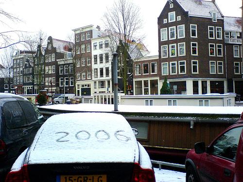 Amsterdam, la Neve