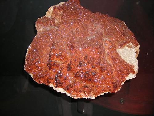 Giethoorn De Oude Aarde Museum - Fossili Cristallo Rosso
