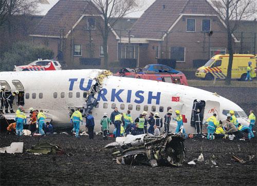 Amsterdam, l'incidente aereo della Turkish Airlines