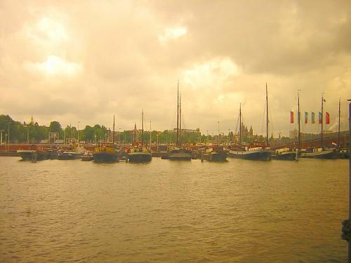 I battelli ad Amsterdam