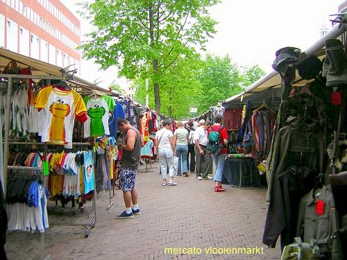 Amsterdam, i Mercati. Vloienmarkt
