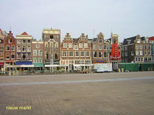 Amsterdam, i Mercati. Nieuw Markt