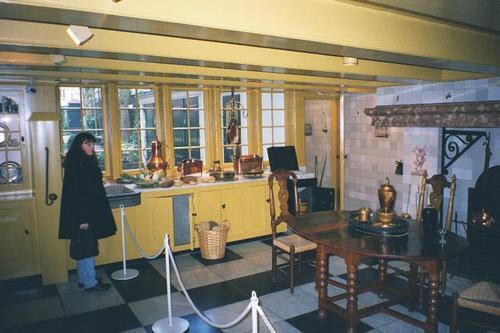 Amsterdam, la Cucina del Museo Willet-Holthuysen