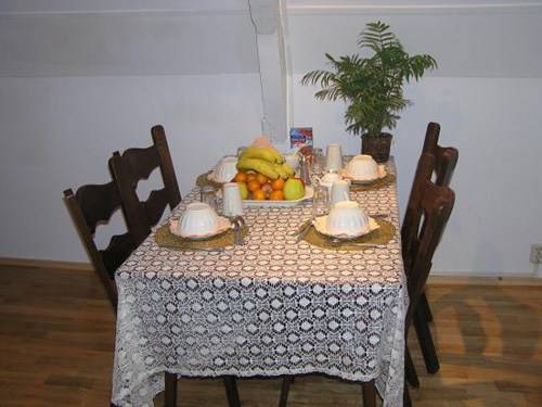Bed and Breakfast tavolo imbandito di Frutta