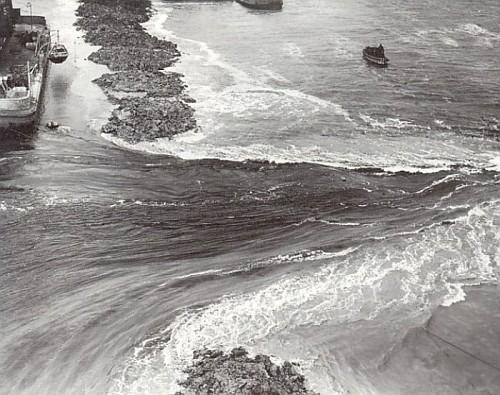 la Diga dell'Afsluitdijk, i primi effetti
