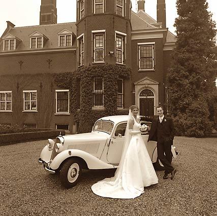 Il Matrimonio in Olanda con auto d'epoca