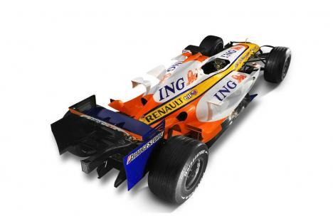 Renault Ing, auto dall'alto
