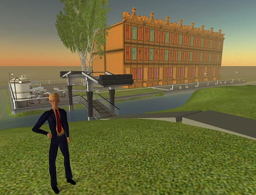 Amsterdam su Second Life