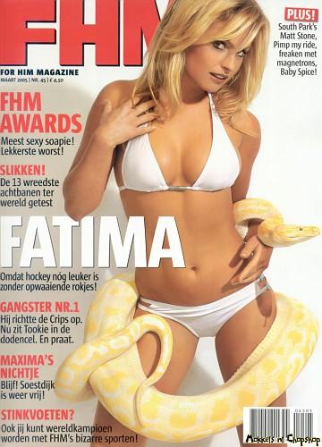 fatima moreira de melo in copertina