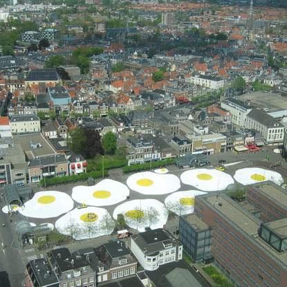 Henk Hofstra : l'artista al tegamino