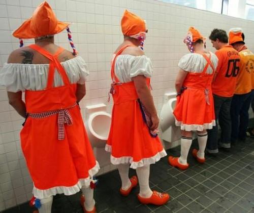 Gli Olandesi e il Wc