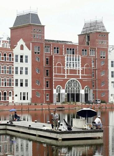 l'Olanda ricostruita in Cinam un Edificio