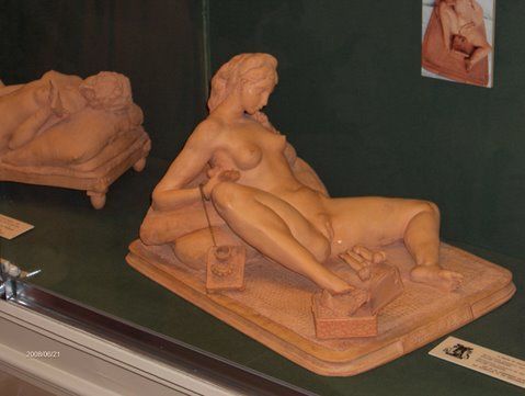 Amsterdam, Sex Museum, Scultura Erotica