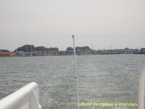 Battello Marken a Volendam