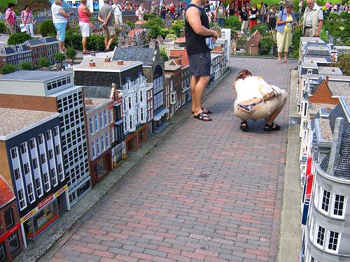 Madurodam, l'Olanda in miniatura, le Case tipiche