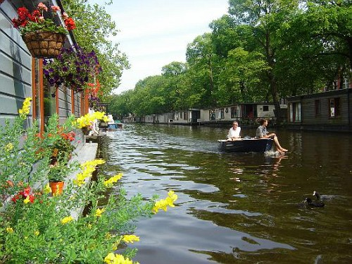 Amsterdam, le Houseboat da vicino