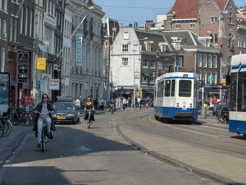 Amsterdam, i Tram in movimento