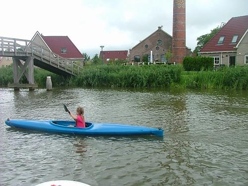 Olanda viaggio in barca. Canoa