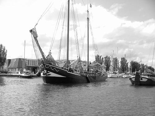 Olanda viaggio in barca. Vascello