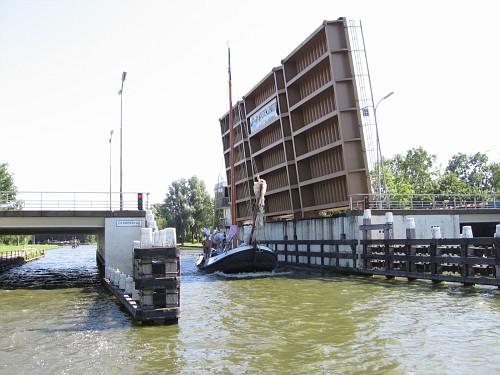 Olanda viaggio in barca. Chiusa
