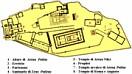 Mappa Acropoli di Atene