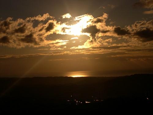 L'alba, uno dei miei soggetti preferiti! :-)